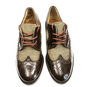 Tower Brown Leather Dress Shoes